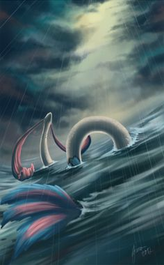 The majestic Milotic