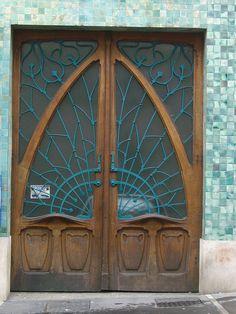 Pharmacie Rosfelder (1902) - 12 rue de la Visitation, Nancy (54) by Yvette Gauthier, via Flickr-France