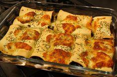 Zoutarm Recept Cannelloni met spinazie en gehakt : Natriumarm of zoutbeperkt eten? Maak deze Cannelloni met spinazie en gehakt, zonder pakjes of zakjes