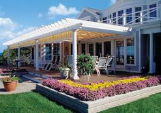 Fortunately, it's simple to put in a pergola that gives shade and fashion. The pergola is intended to go over a sitting area that's surrounded by a ga.