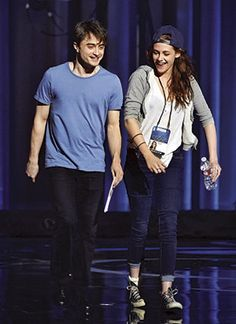 Robsten Dreams: New Picture of Kristen and Daniel Radcliffe at Oscars Rehearsal