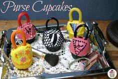 Purse Cupcakes a.k.a. Handbags {Mother's Day, Birthday Cupcakes}