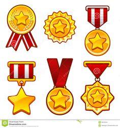 medallas-con-la-estrella-36979544.jpg (1300×1390)