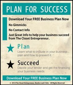 Free Business Plan Templates for Startups | Pinterest | Free ...