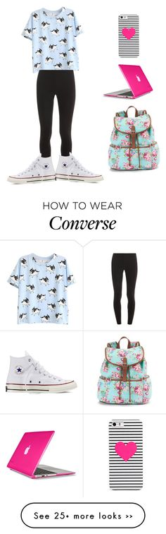 """Road trip"" by rachelishappy on Polyvore featuring Speck, Candie's, BaubleBar, Splendid and Converse"