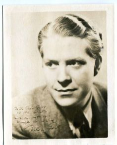 Nelson Eddy - Signed - To The Choir Girls of All Saints