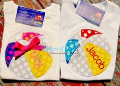 love this...Summer beach Ball fun applique shirt for boys or girls by MunskerandRoo,