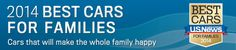 2014 best ranked vehicles for families