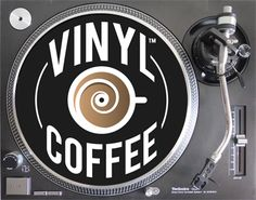 Image result for vinyl records and coffee