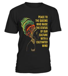 """# African Shirt Black Peace To Queens Who Raise Status Culture .  Special Offer, not available in shops      Comes in a variety of styles and colours      Buy yours now before it is too late!      Secured payment via Visa / Mastercard / Amex / PayPal      How to place an order            Choose the model from the drop-down menu      Click on """"Buy it now""""      Choose the size and the quantity      Add your delivery address and bank details      And that's it!      Tags: FAUX GOLD African…"""