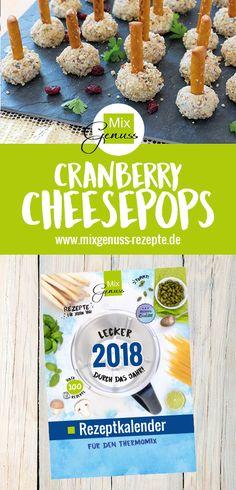 Cranberry-Cheesepops: Ein Partyknaller! – MixGenuss Blog