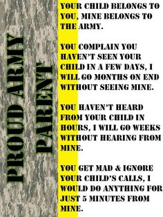 Proud Army Parent