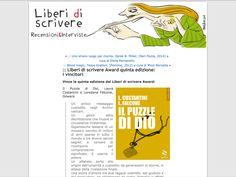"""""""Il puzzle di Dio"""" (goWare) viene eletto miglior edito 2014 dai lettori di Liberidiscrivere"""