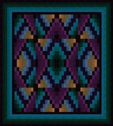 Videos e projetos - Love the colors in this quilt.