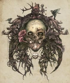 Brilliant Illustrations by DZO Olivier...would make an amazing tattoo :)