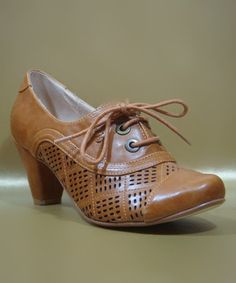 Take a look at this Tan Marilyn Oxford Pump by Chelsea Crew on #zulily today! $39.99, regular 70.00. Sale ends in 2 days, 7 hours. In otherwords, sale ends on Saturday, June 8th in the evening.