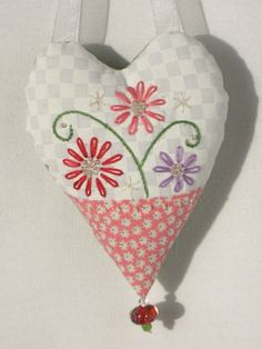 Sweet little heart pillow  by Susan Stahl