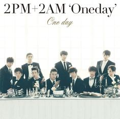Album cover for 2PM + 2AM's 'One Day' revealed