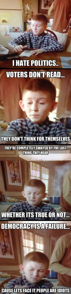 Dewey should be president...