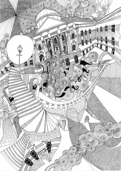 drawing  Challenge Sites | Lizzie Mary Cullen has drawn numerous London landmarks. This is ...