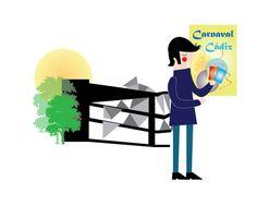 """Ilustración para proyecto """"mapa del carnaval"""""""