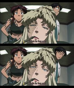 Black Lagoon Balalaika | Image of Revy (Black Lagoon - Balalaika in the Ass scene) - Anime Vice