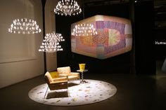 Dutch design brand Moooi celebrated the launch of their inaugural - and extensive - collection of photo-realistic carpet designs by taking over a vast warehouse at Via Savona - Salone del Mobile 2015