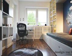 REALIZACJA POKOI DZIECIĘCYCH STAR WARS - Mały pokój dziecka dla chłopca dla ucznia dla nastolatka, styl nowoczesny - zdjęcie od design me too
