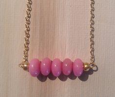 Breast Cancer Awareness. Simply beautiful pink morganite Raise the Bar by lovelybylara