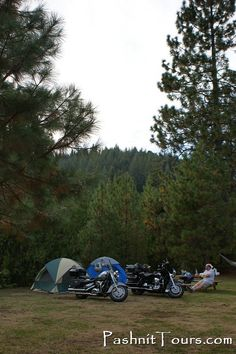 Motorcycle Camping ... #pashnit  http://www.PashnitTours.com