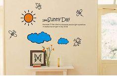 I Like Sunny Day Wall Stickers