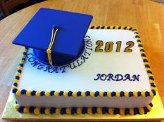 Graduation cake — Graduation Cakes Photos