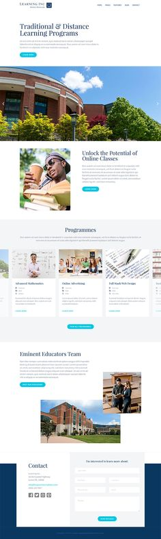 The Hot Learning is a clean responsive template suitable for the development of educational websites. This template is a good starting point for the websites for both traditional and distance learning programs. Educational Programs, Educational Websites, Distance Learning Programs, Joomla Templates, Screen Shot, App Design, Colorful Backgrounds, Traditional, Application Design