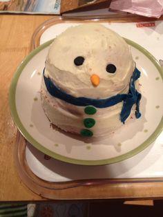 Ethan's Christmas snowman