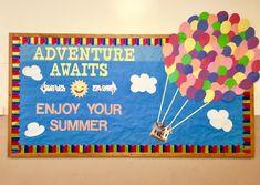 End of school year /summer bulletin board