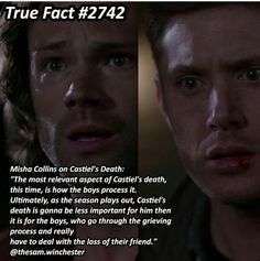 But he's coming back, right? Like, soon? Right? I can't deal without him. Bring Castiel back!!!!!!