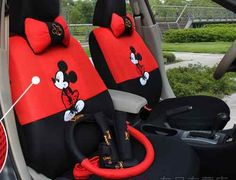 2012 new Mickey Mouse seat covers car seat cover | eBay