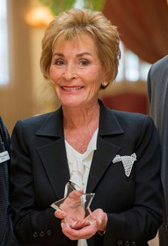 We Need To Talk About Judge Judy Being A GD Fucking Boss  She's Miss American Dream since she was 53.