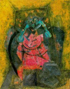 Telefonitis-Rufino Tamayo-1957 — Daily Art Fixx - a little art, every day
