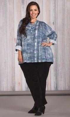 ARIEL BLOUSE / MiB Plus Size Fashion for Women / Winter Fashion / Plus Size Blouse
