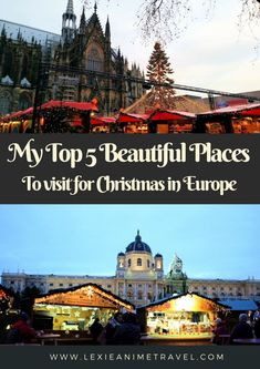 My Top 5 Beautiful places to visit for Christmas in Europe Best Places To Travel, Places To Go, Christmas In Europe, Christmas Stuff, Festivals Around The World, Adventure Activities, Worldwide Travel, Winter Travel, Holiday Travel