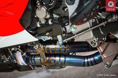 Honda RC213V exhaust lower