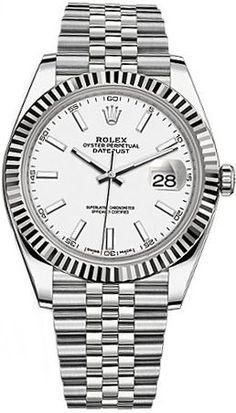Rolex Datejust 41 126334 Item #: 126334-WHTSJ #Rolex