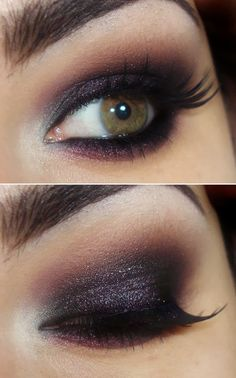 Gleaming Spire : New Year's Eve makeup and hair Ideas*