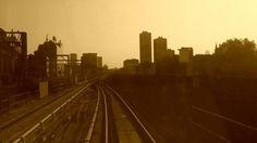 Tren camino a Greenwich