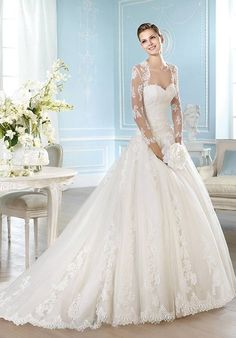 ST. PATRICK Costura Collection - Harlei Wedding Dress - The Knot