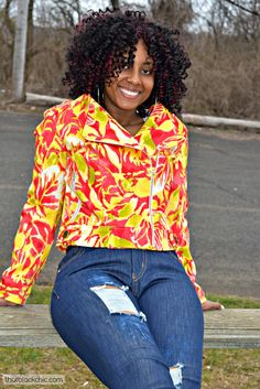 DIY jacket Simplicity 8174 and DIY jeans Simplicity 8222