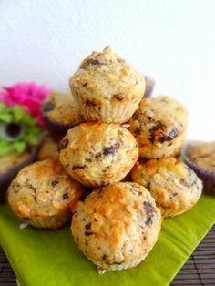 Muffin flocon d'avoine 🍌 chocolat