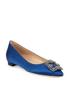 Dream list of things I want in my closet! Manolo Blahnik Sandals, Manolo Blahnik Hangisi, Two Strap Sandals, Salvatore Ferragamo, Designer Shoes, Mary Janes, Neiman Marcus, Kitten Heels, Pumps