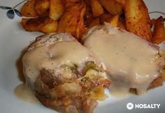Clean Recipes, Beef Recipes, Tasty, Yummy Food, Hungarian Recipes, Ciabatta, Pork Chops, Nutella, Main Dishes